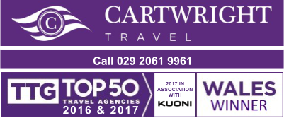 Cartwright Travel telephone 029 2061 9961