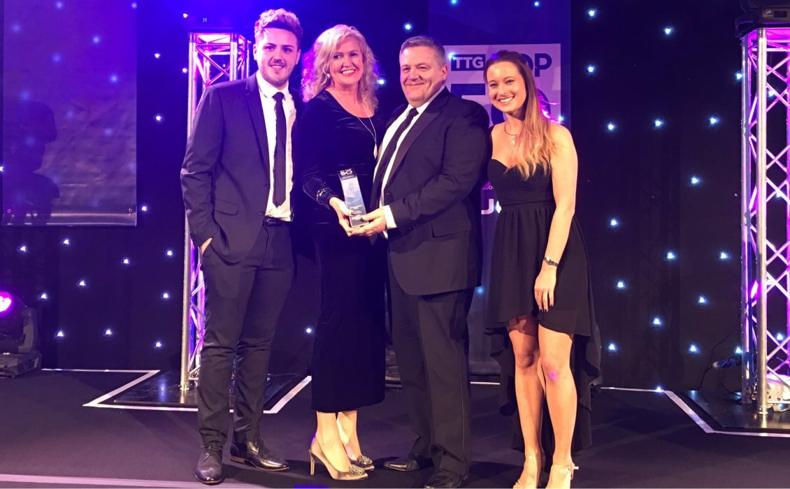 2017 TTG Wales Winner For Top Travel Agency